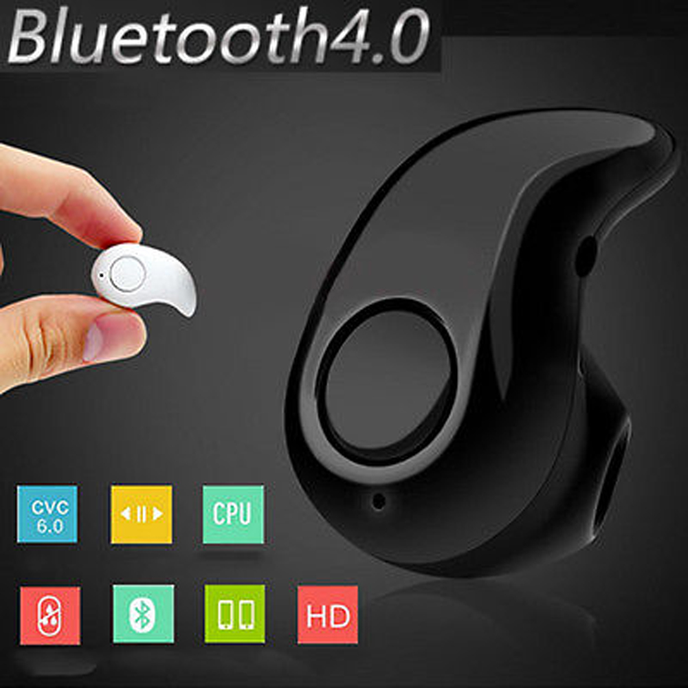 Mini Bluetooth Wireless Headset Handsfree Earphone for iPhone 6S Plus 5S Samsung