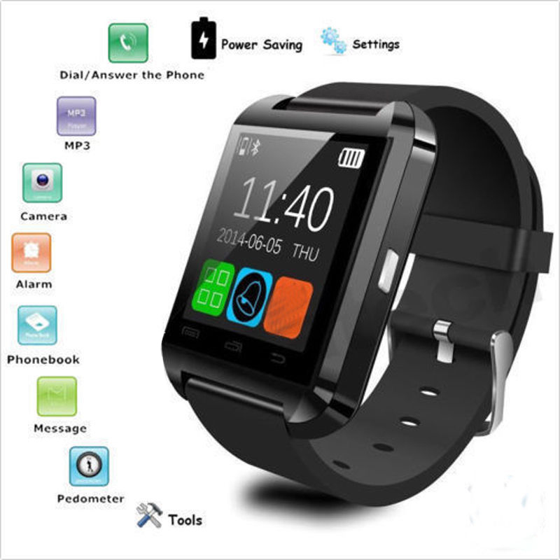 2016 Smart Bluetooth Watch Phone GSM SIM Card