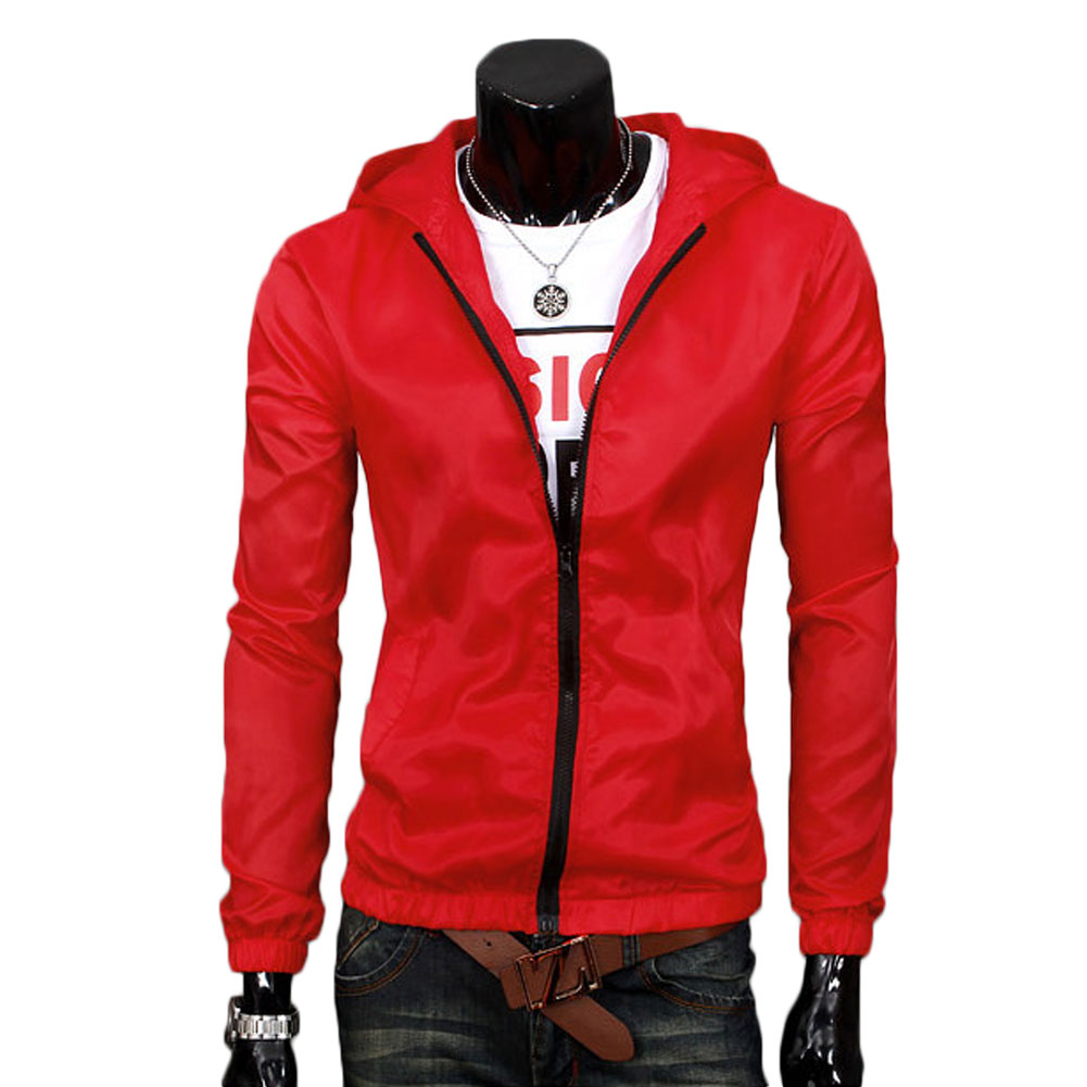 E58A-Men-Raincoat-Sunblock-Windbreaker-Waterproof-Trench-Blazer-Coat-Jacket