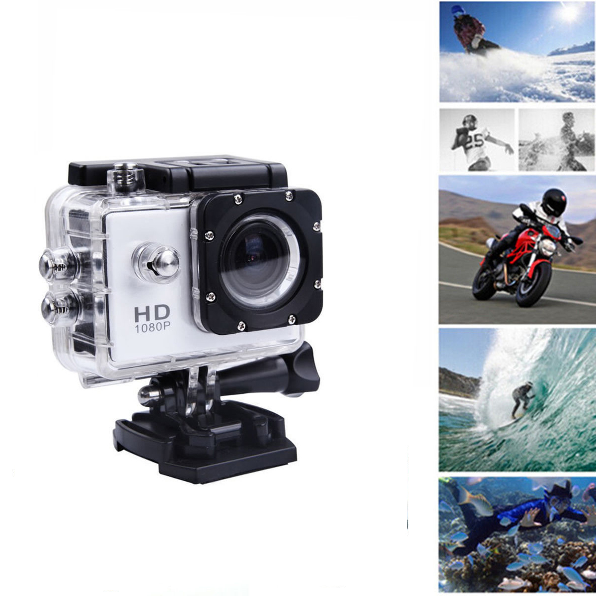 Full HD SJ4000 1080P 12MP Car Cam Sports DV Action Waterproof Camera Camcorders