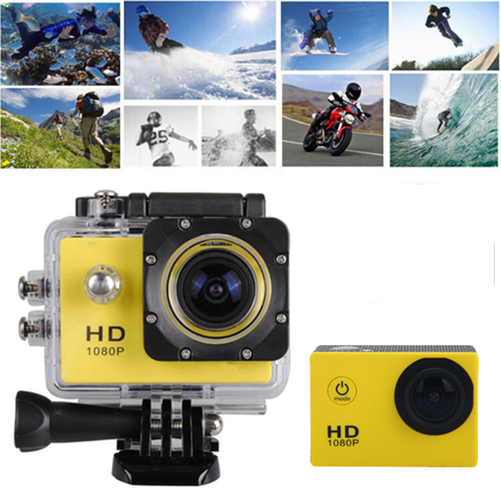 12mp hd 1080p sports action waterproof camera mini dv. Black Bedroom Furniture Sets. Home Design Ideas