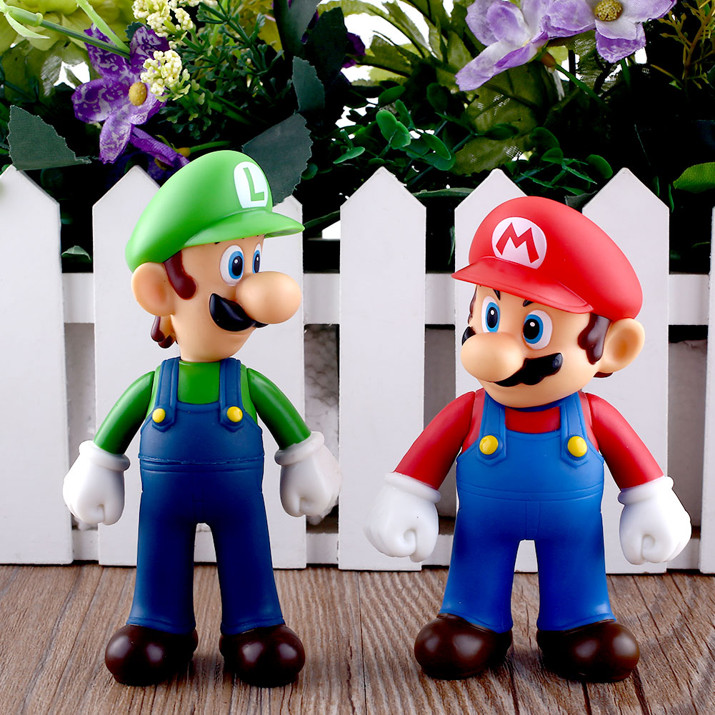 Toys For Brothers : Pcs nintendo new super mario bros brothers luigi toy pvc