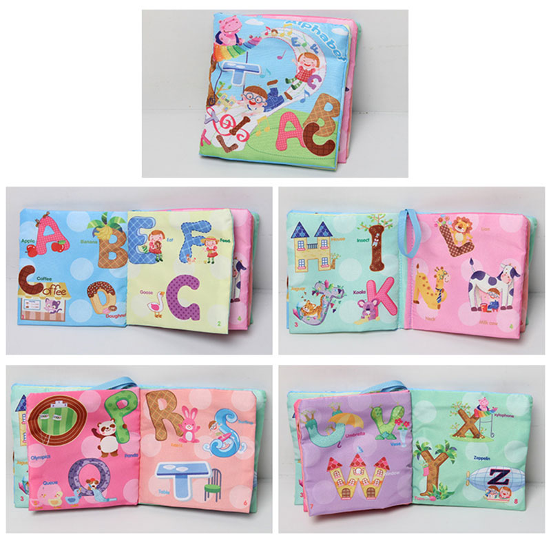 Kids-Cloth-Cognize-Book-Animals-Intelligence-Development-Educational-Learn-Toy