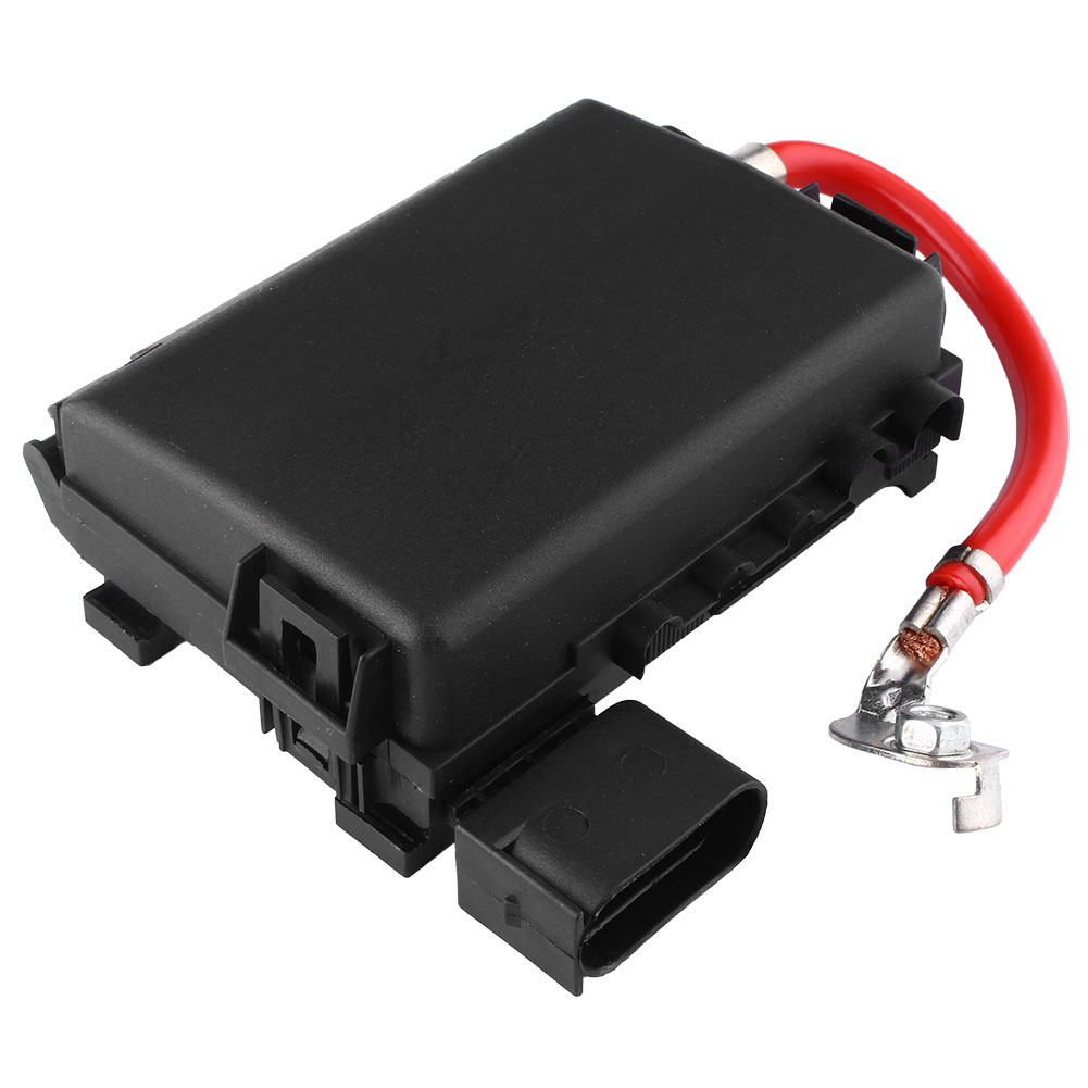 oem fuse box battery fit for vw jetta golf mk4 beetle 2 0 1 9tdi 99 04 black ebay. Black Bedroom Furniture Sets. Home Design Ideas