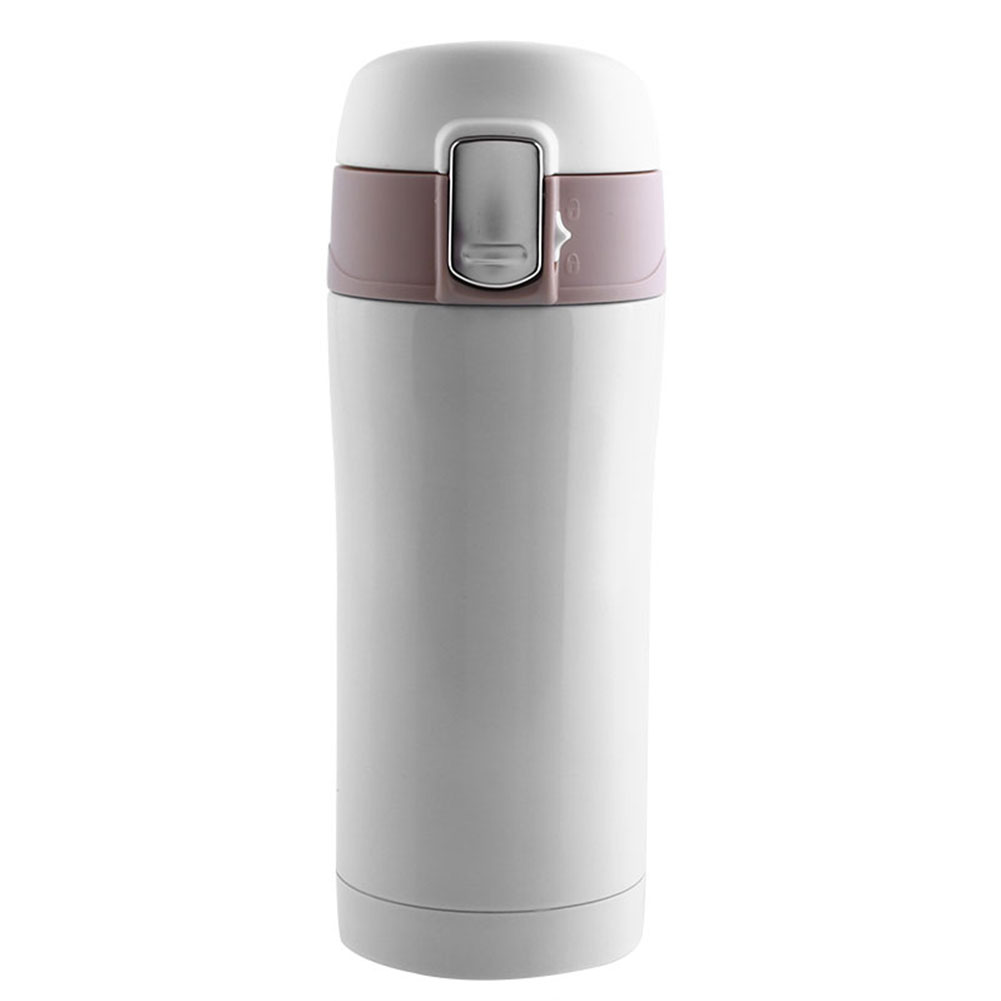 350ml travel mug water bottle stainless steel vacuum flask thermos cup 4color. Black Bedroom Furniture Sets. Home Design Ideas