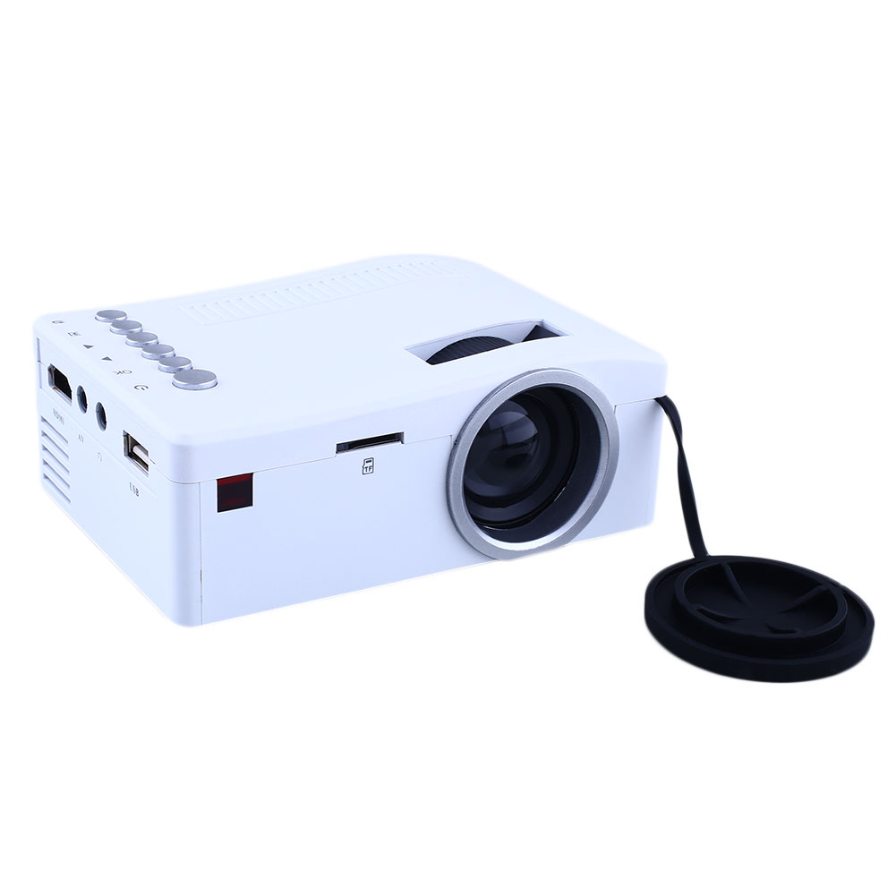 Mini 1080p Full Hd Led Projector Home Theater Cinema 3d: 1080P HD Mini Projector LED Home Cinema Theater Multimedia