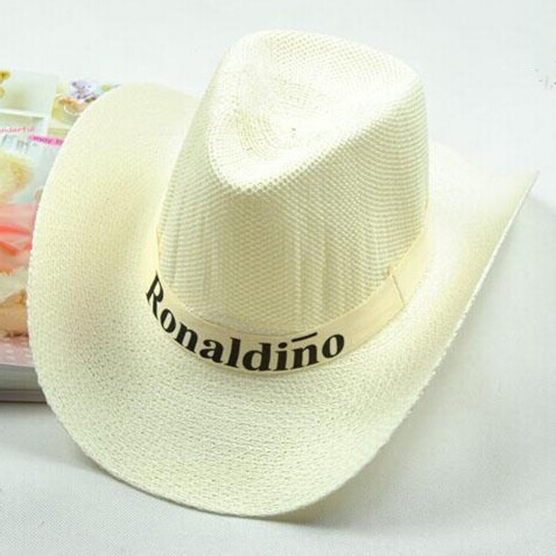 82B2-Trendy-Men-Sun-Wide-Brim-Straw-Fedora-Western-Cowboy-Hat-Beach-Riding-Cap