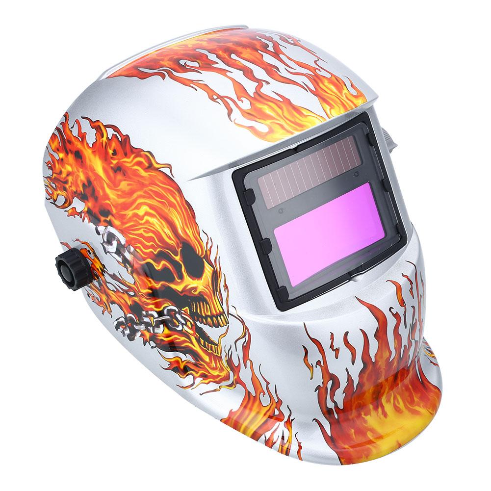 Auto Darkening Welding Helmet   Welders Arc TIG MIG Grinding Solar Powered