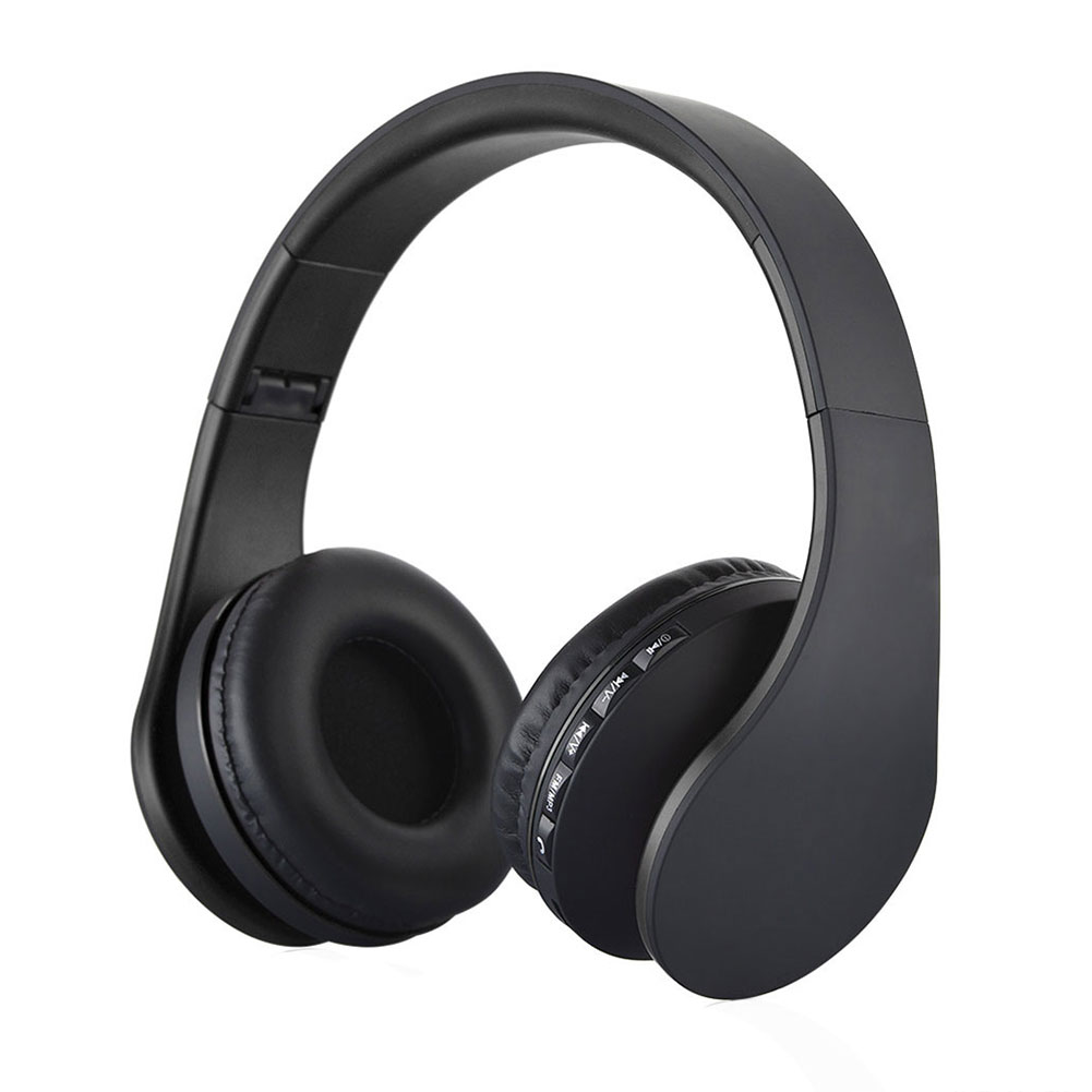 Wireless Bluetooth Foldable Headset Stereo Headphone For Android Cellphones