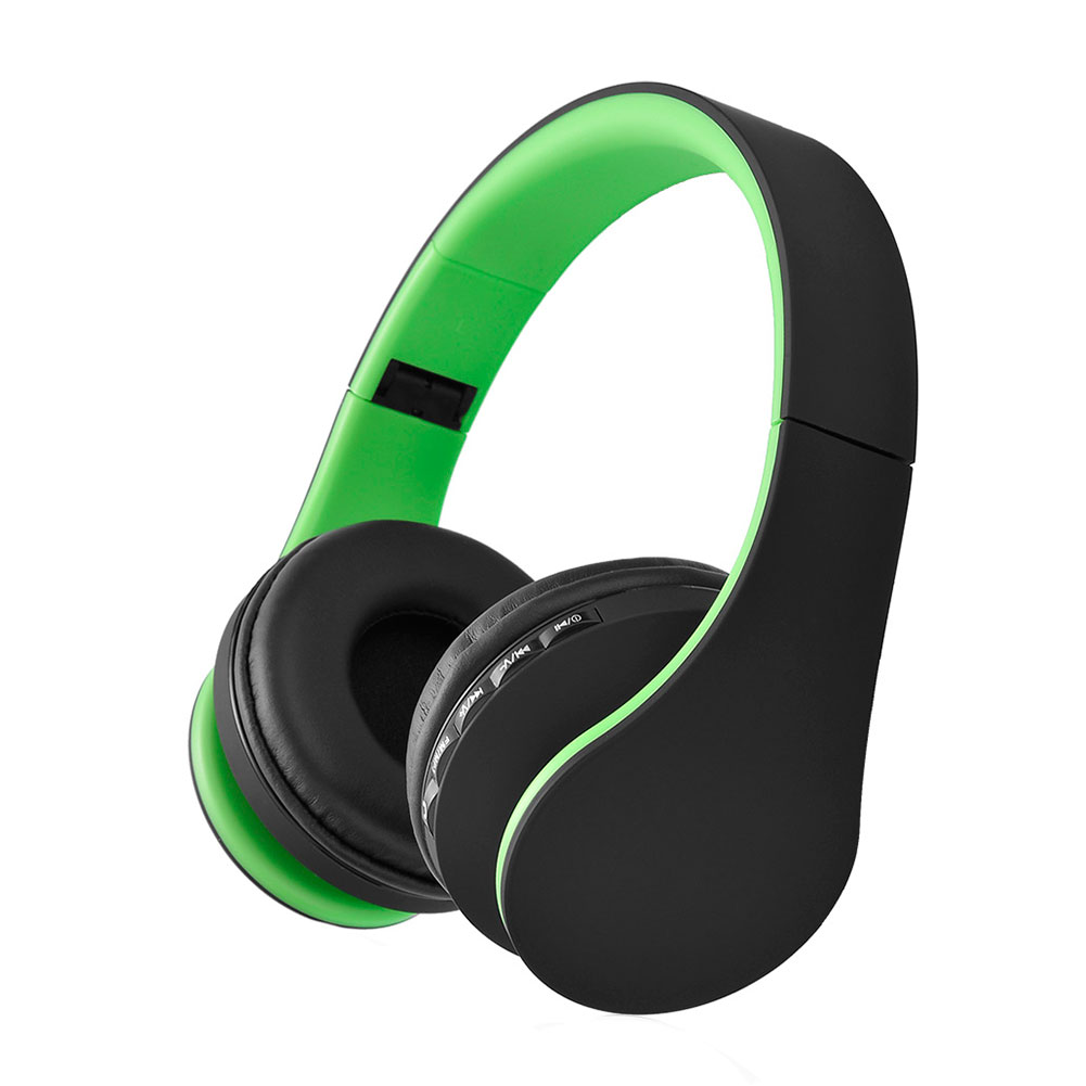 wireless bluetooth foldable headset stereo headphone for android cellphones ebay. Black Bedroom Furniture Sets. Home Design Ideas