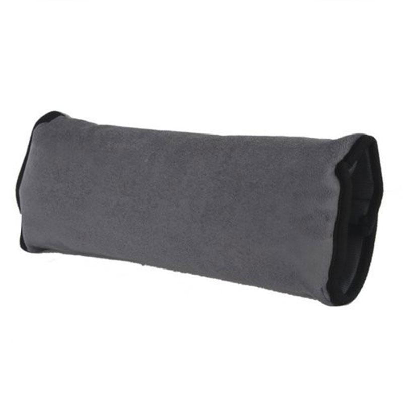 kids child safety car seat belt pad shoulder head support pillow cushion ebay. Black Bedroom Furniture Sets. Home Design Ideas