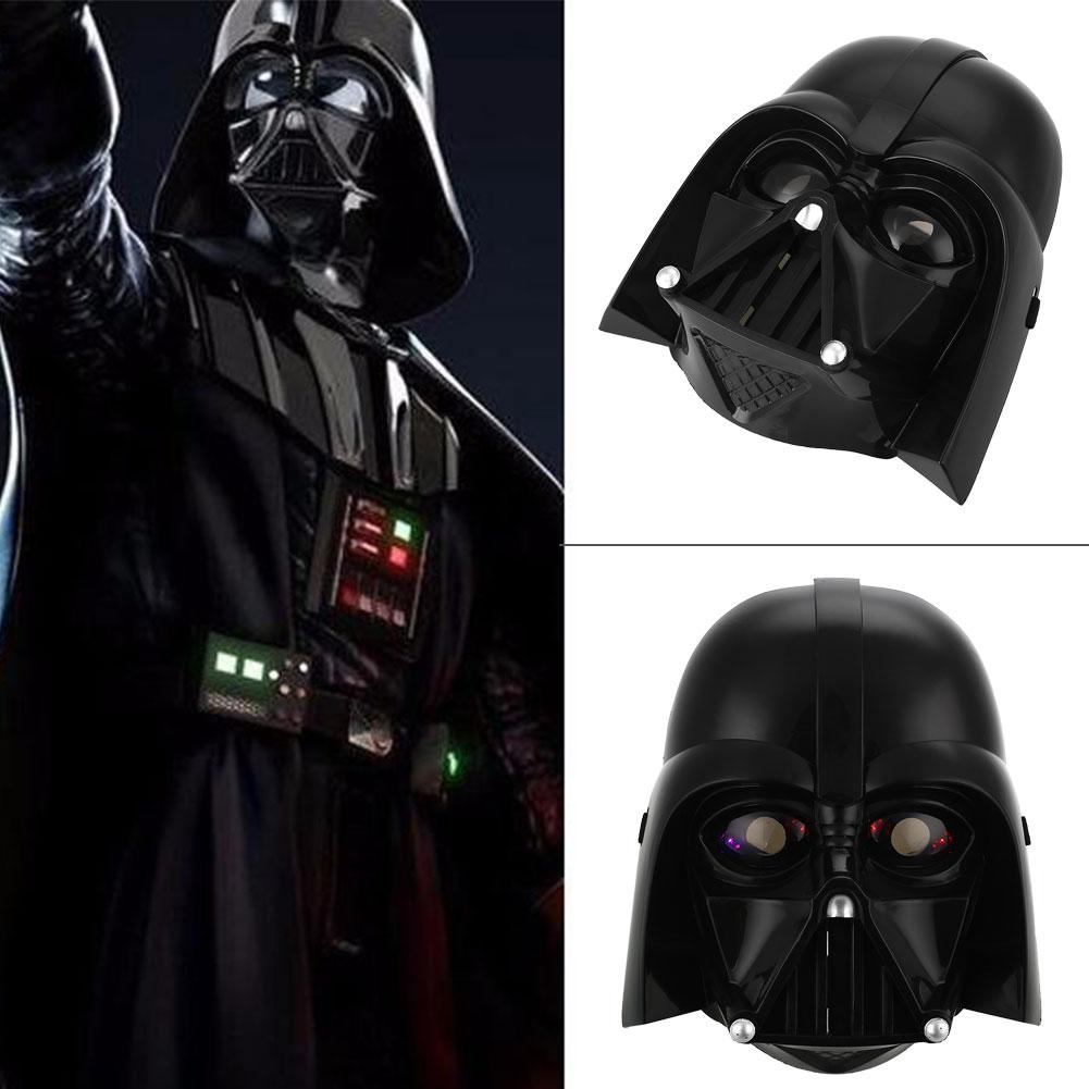 Dress up for masquerade party - Star Wars Led Light Stormtrooper Darth Vader Mask