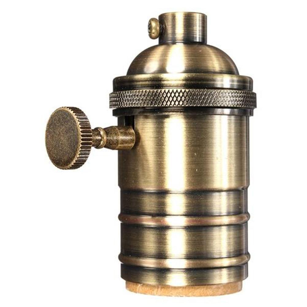 e26 e27 retro antique pendant l holder light bulb
