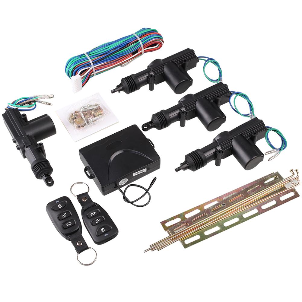 Remote control car central lock locking keyless entry kit