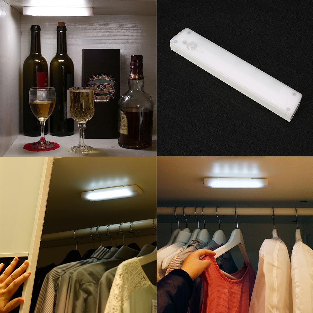 long home bedroom porch cabinet body led nightlight motion
