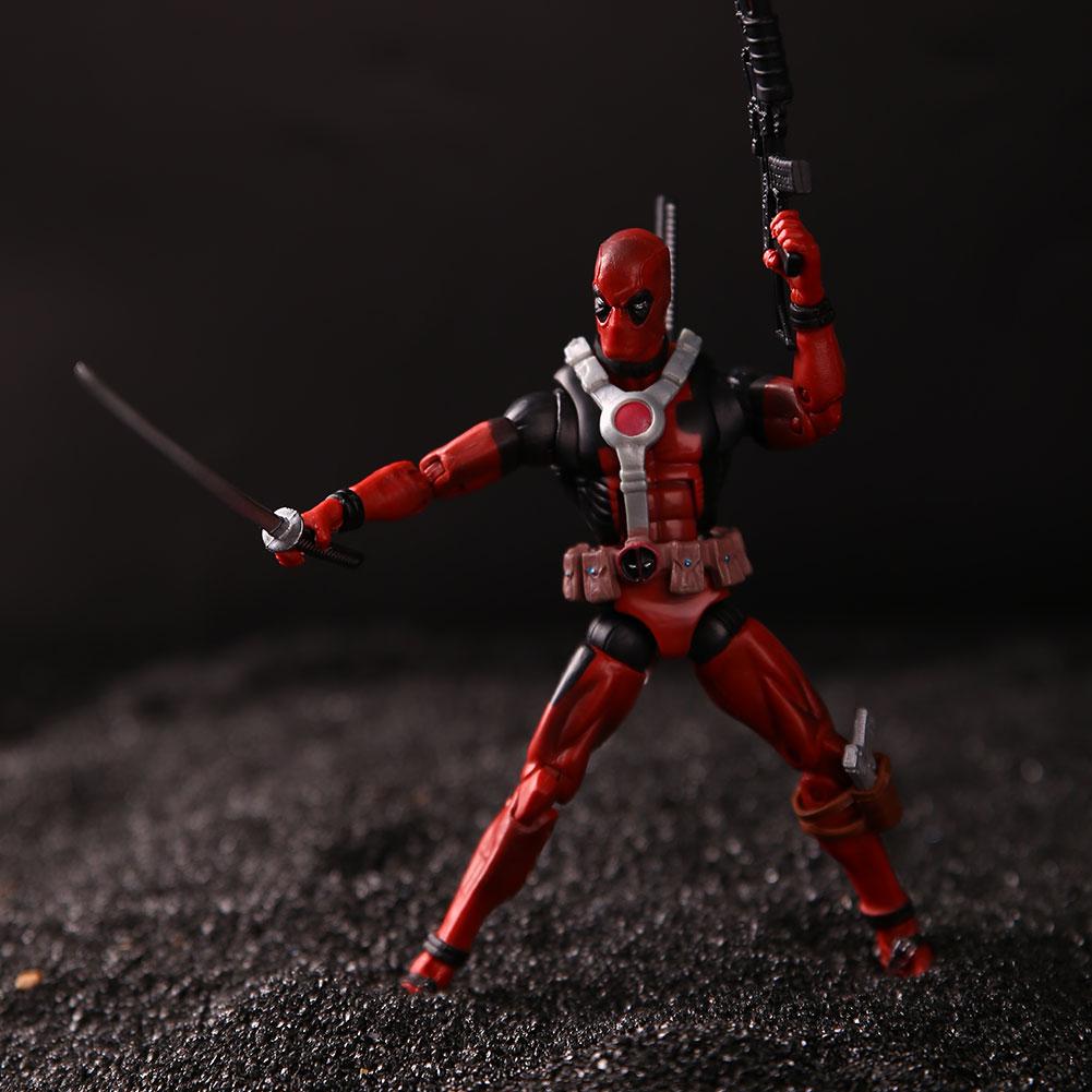 Kids 6 marvel deadpool action figure universe x men comic for Deadpool show