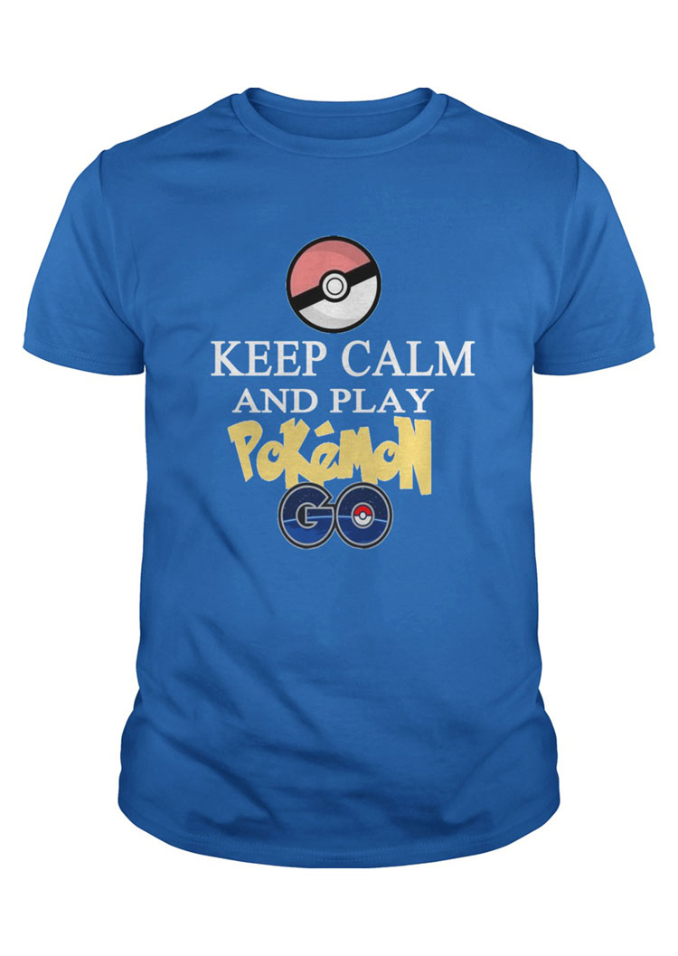 Women-Pokemon-Letter-Printed-Short-Sleeve-Top-Blouse-Pullover-O-Neck-Tee-T-shirt
