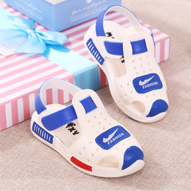 5D8E-2017-Beach-Kids-Sandals-Sports-For-Girls-Children-039-s-Closed-Toes-Toddler