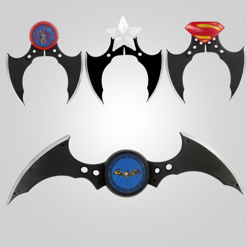 Cool Fidget Toys : Cool batman batarang fidget spinner ring alloy tri
