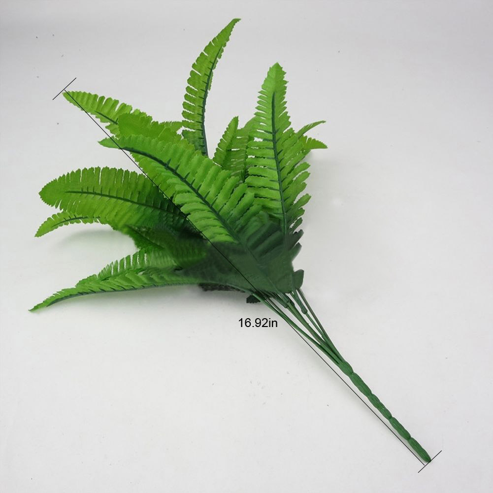 A28A-Artificial-Plants-Outdoor-Fake-Flower-Leaf-Bush-Home-Office-Garden-Decor