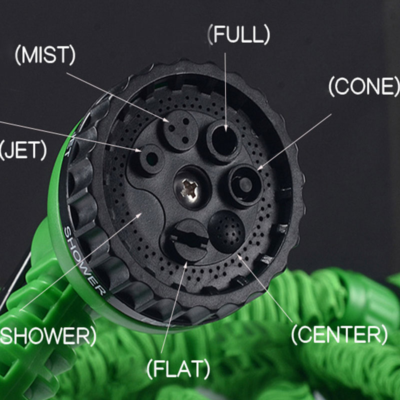 DE58-50FT-Expandable-3x-Flexible-Garden-Water-Hose-Pipe-w-Spray-Nozzle-Head