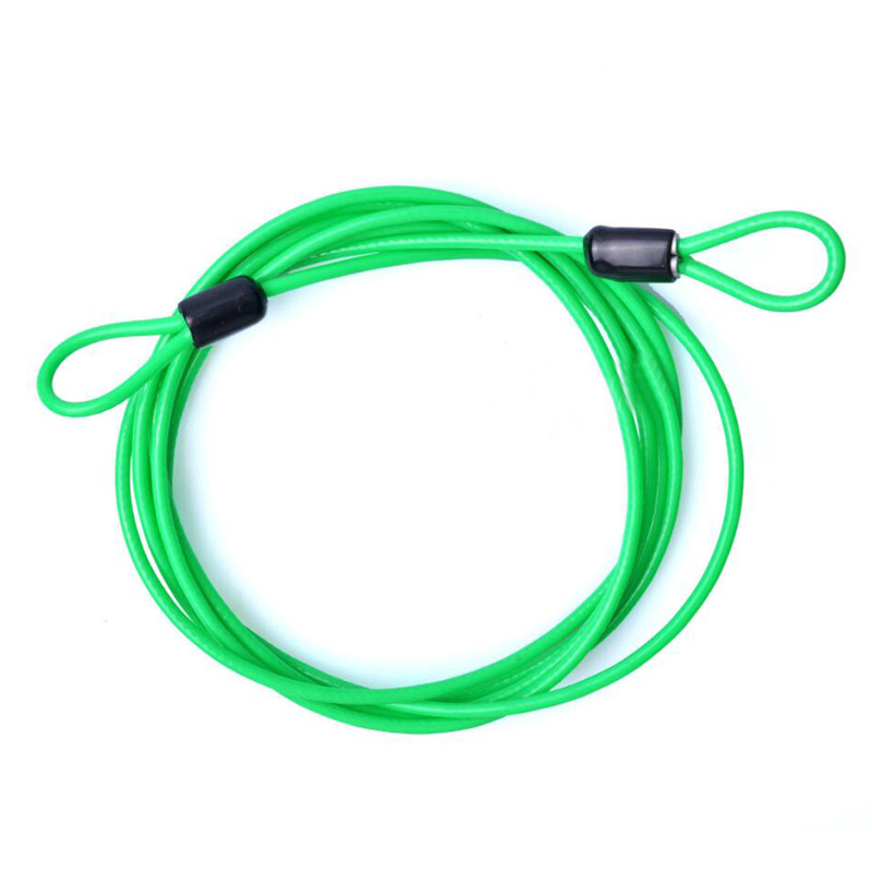 2C14-2017-200CM-x-2-5MM-Cycling-Sport-Security-Loop-Cable-Lock-Resettable-Bike