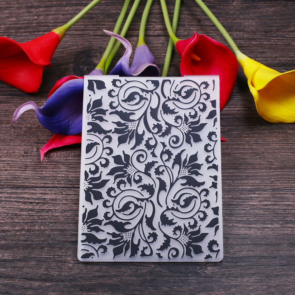 A5A8-Plastic-Embossing-Folder-Template-DIY-Papercraft-Beauty-Paper-Cards-Crafts