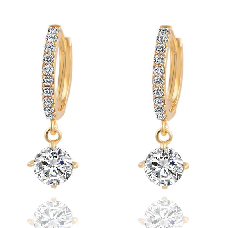 241E-Lady-Women-039-s-Fashion-Crystal-Diamond-Pendant-Earrings-Charm-Jewelry-Gifts