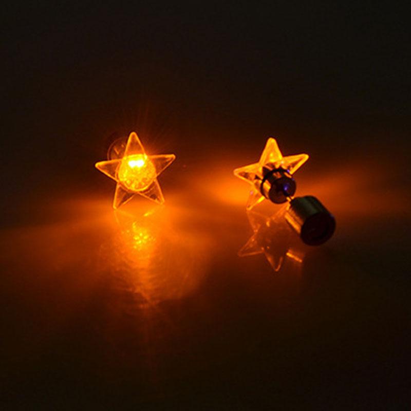 EE89-Women-Five-Point-Star-LED-Light-Up-Glowing-Earrings-EarStud-LED-Accessory
