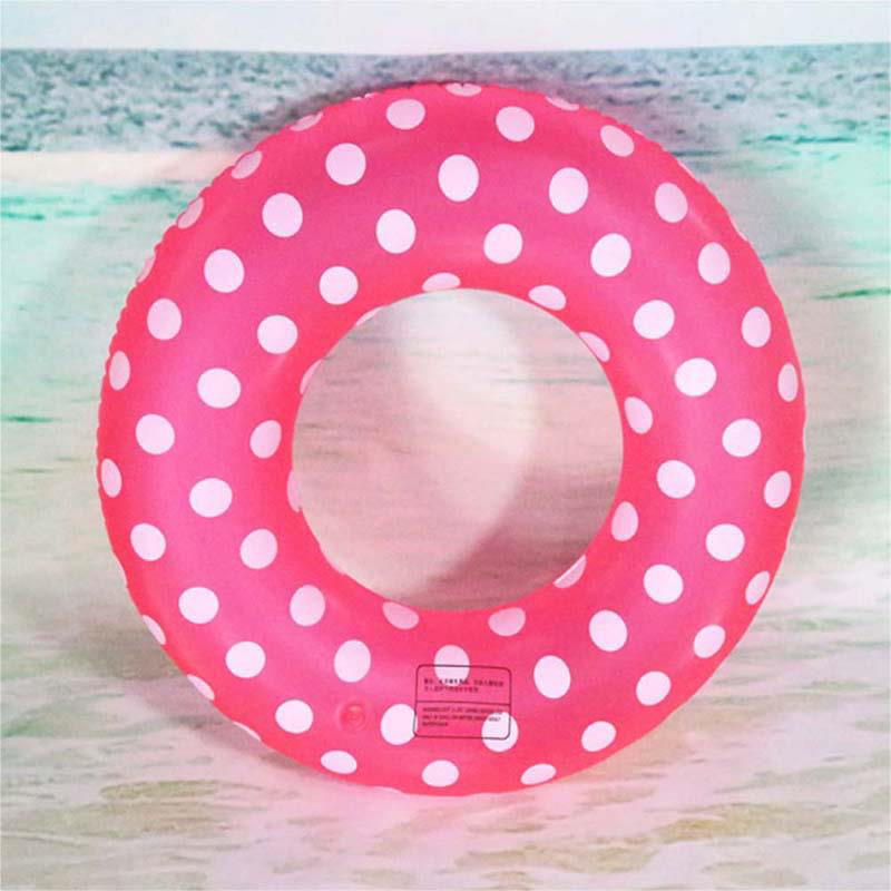 5AFF-Inflatable-Swim-Ring-Wave-Point-PVC-Swimming-Toy-Kids-Adults-Accessories