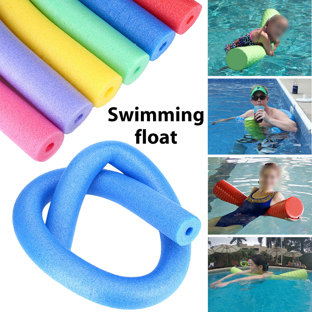 7D08-Swimming-Pool-Flexible-Seat-Noodle-Tube-Hollow-Water-Floating-Adult-Tools