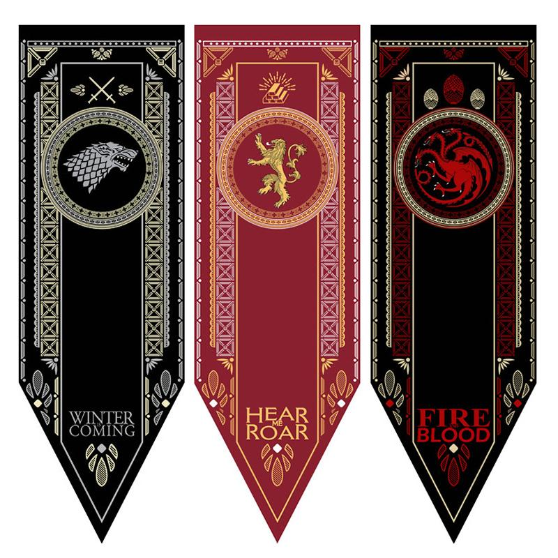 8E2F-Fabric-Poster-Print-Game-of-Thrones-House-Stark-Banner-Flag-Decor-48x150CM