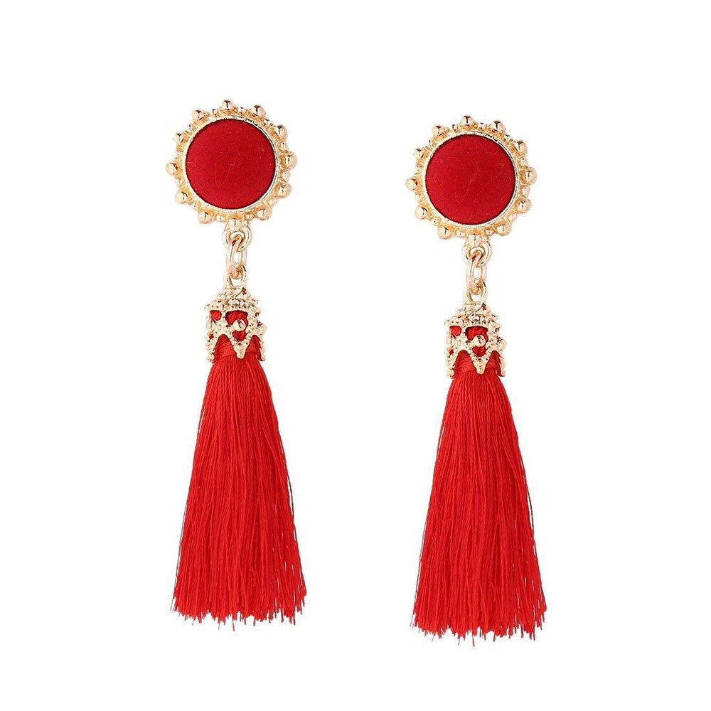 53D6-Boho-Casual-Long-Tassle-Earring-wedding-Lady-Ear-Studs-Jewelry-Ornament