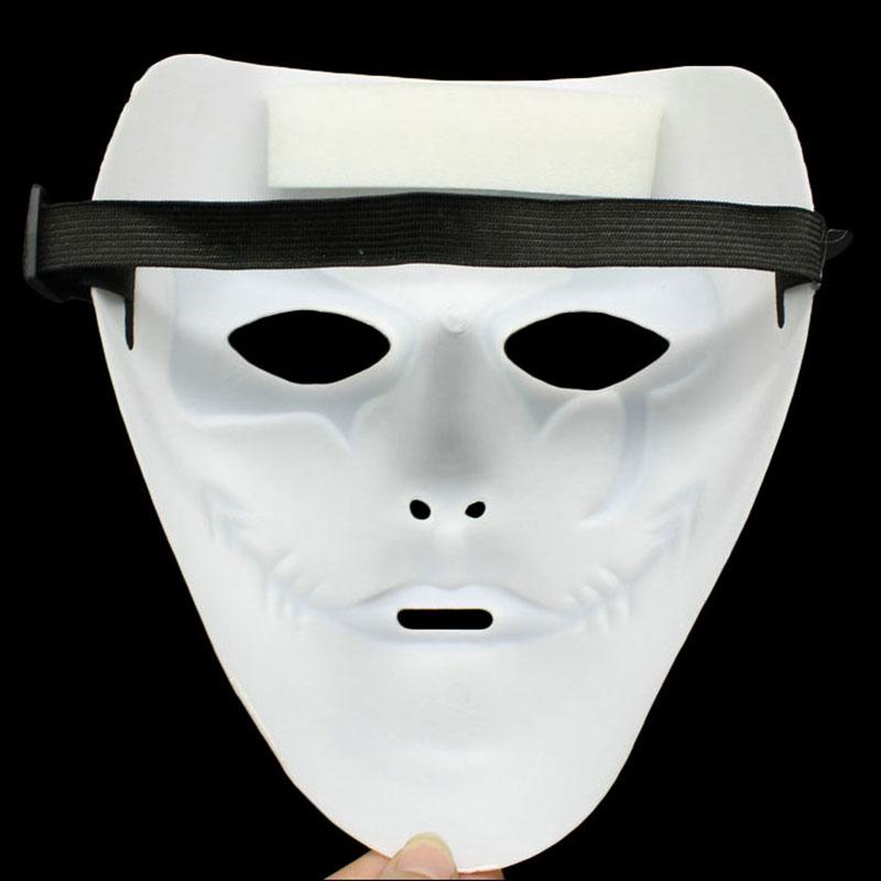 Day Of The Dead Full Face Mask White Halloween Fancy Dress Mask