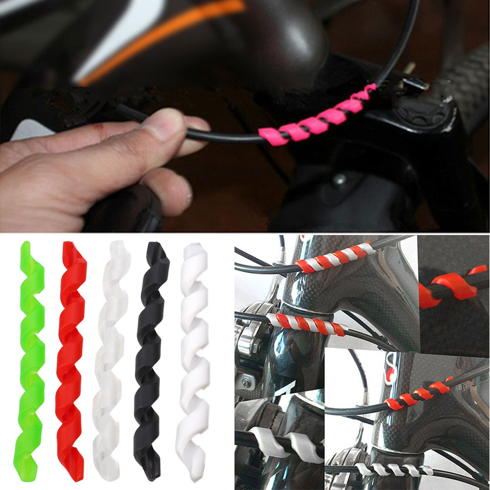 BF66-Brake-Line-Transmission-Cable-Tube-Protector-Protective-Cover-For-Bicycle