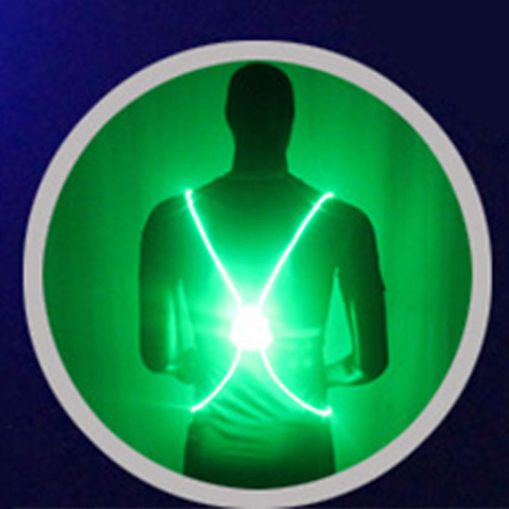 34E1-LED-Safety-Vest-SO1-LED-Fiber-Light-Sports-Cloth-Visibility-Adjustable