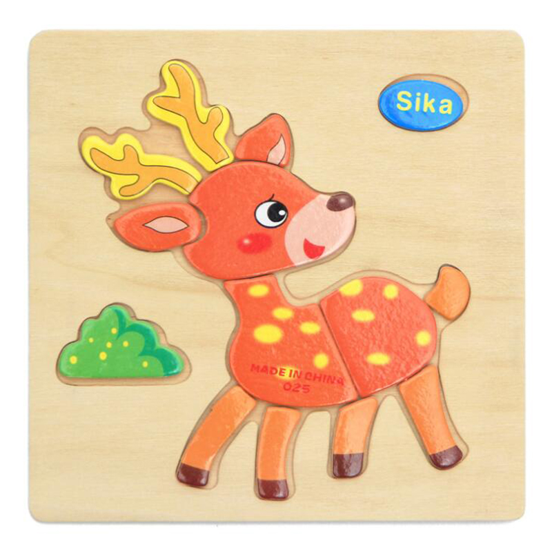AD4D-Educational-Toy-Wooden-Children-Baby-Cartoon-Animal-Puzzle-Cute-Lovely