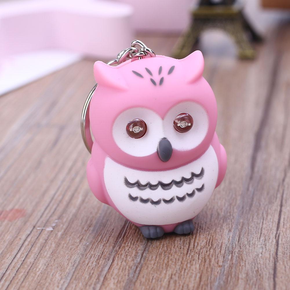 32F8-Owl-Keychain-Key-Ring-Glowing-Pendant-Cute-Creative-7-Color-Handbag-Gift