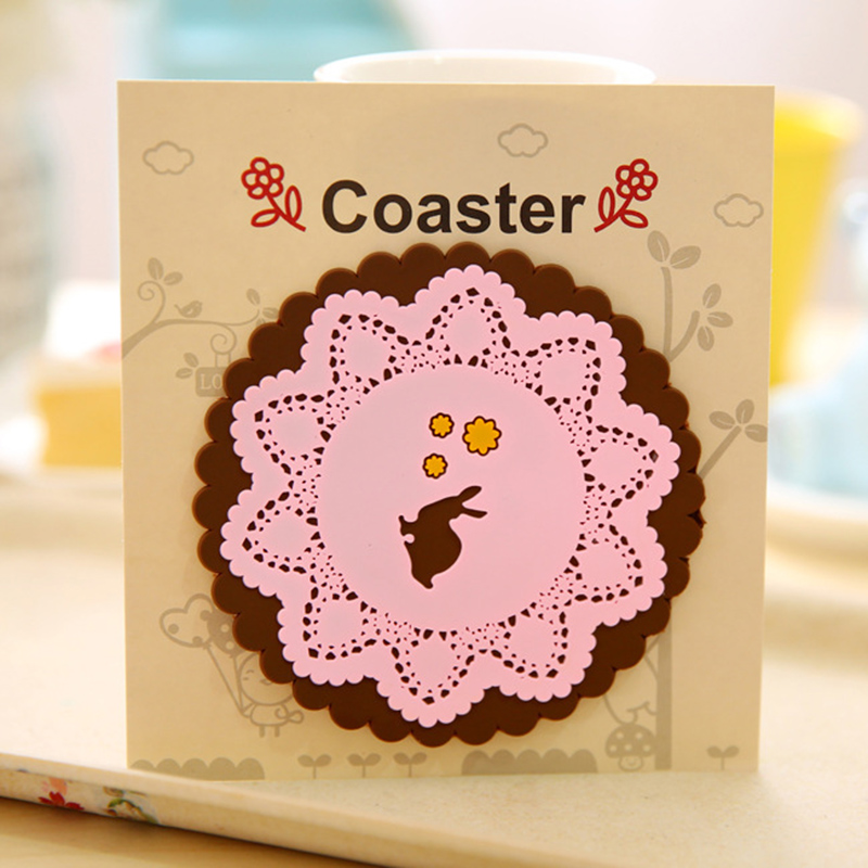 5F42-Silicone-Heat-Insulation-Carving-Flower-Bowl-Cup-Mat-Pad-Placemat-Animal