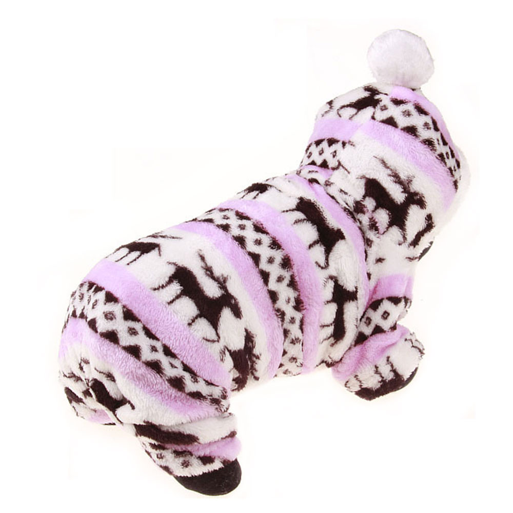 6DA4-Dog-Clothes-Pet-Coat-Warm-Fashion-Multi-Size-4-Color-Decorating-Winter