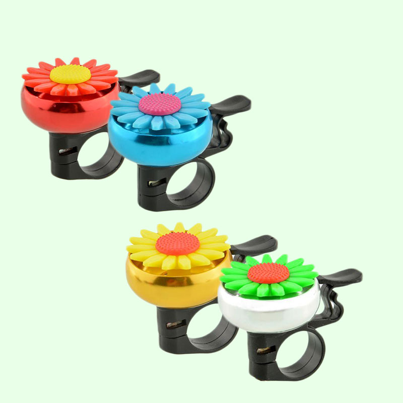 Cuty-Flower-Bike-Bicycle-Handlebar-Ring-Horn-Bell-Alarm-Useful-Safety-11A5