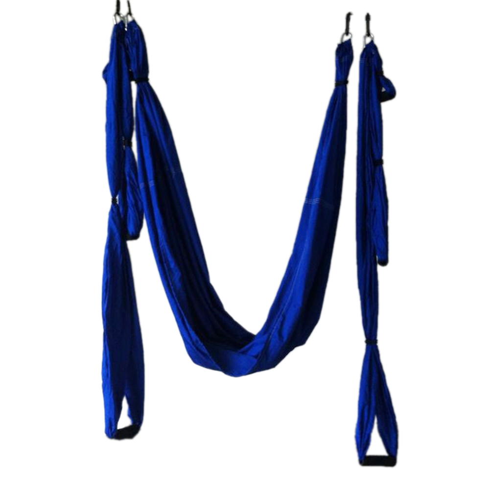 2EE8 New Inversion Anti-Gravity Aerial Yoga Gym Swing Hanging Hammock Blue 691323824314 | eBay