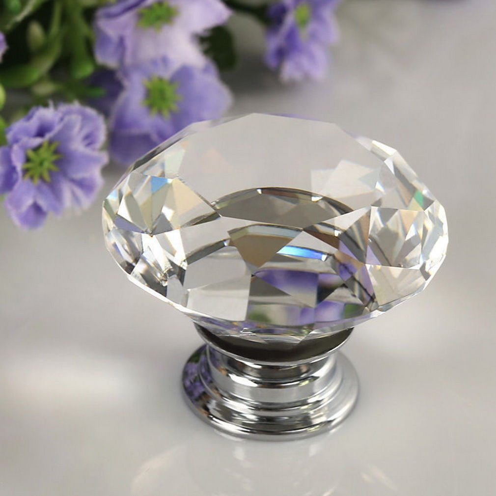 4971-30MM-Crystal-Diamond-Glass-Pull-Handle-Door-Knob-Drawer-Cupboard-Cabinet