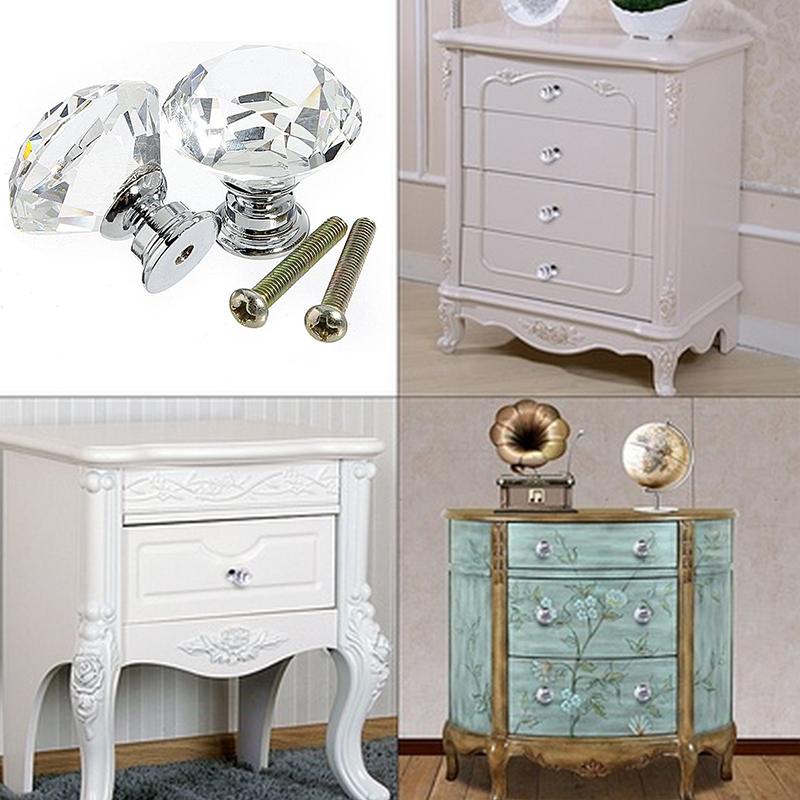 D486-Diamond-Crystal-Glass-Door-Knob-Drawer-Cupboard-Cabinet-Furniture-Handle