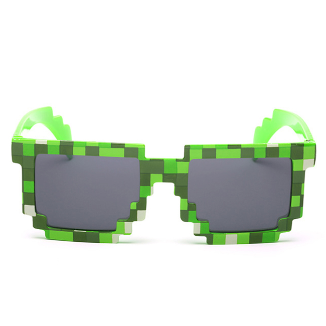 1FE5-Retro-Mosaic-Sunglass-Novelty-Gamer-UV400-Pixel-Unisex-Fashion-Shades
