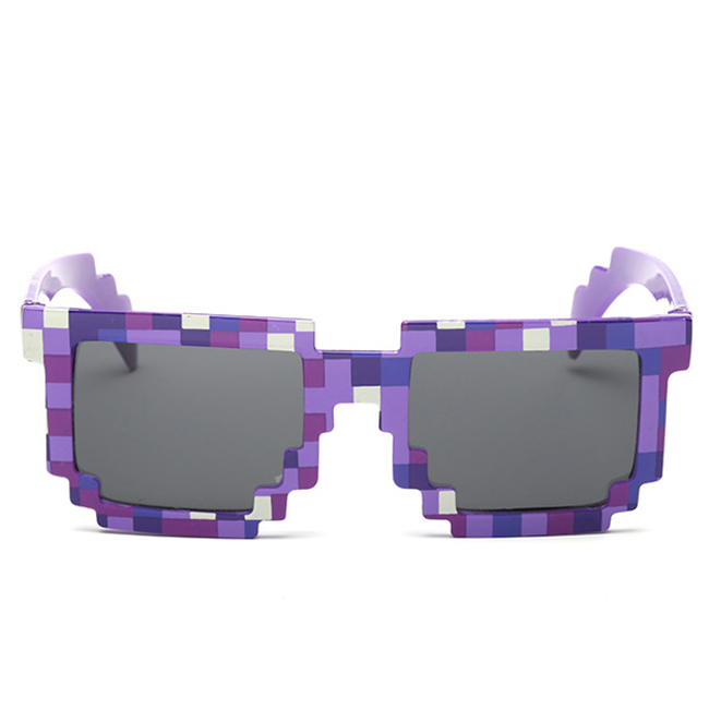 481C-Retro-Mosaic-Sunglass-Old-School-Novelty-Gamer-UV400-Pixel-Unisex-Fashion