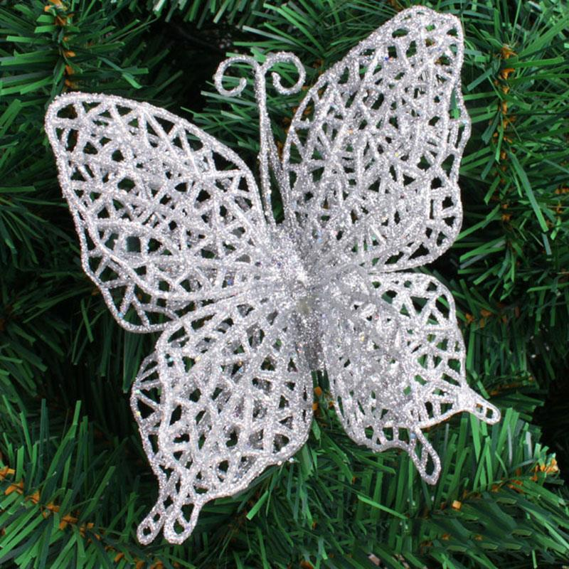 068A-10pcs-Hollow-Hanging-Butterfly-Decor-Xmas-Decor-Party-Festival-Ornament