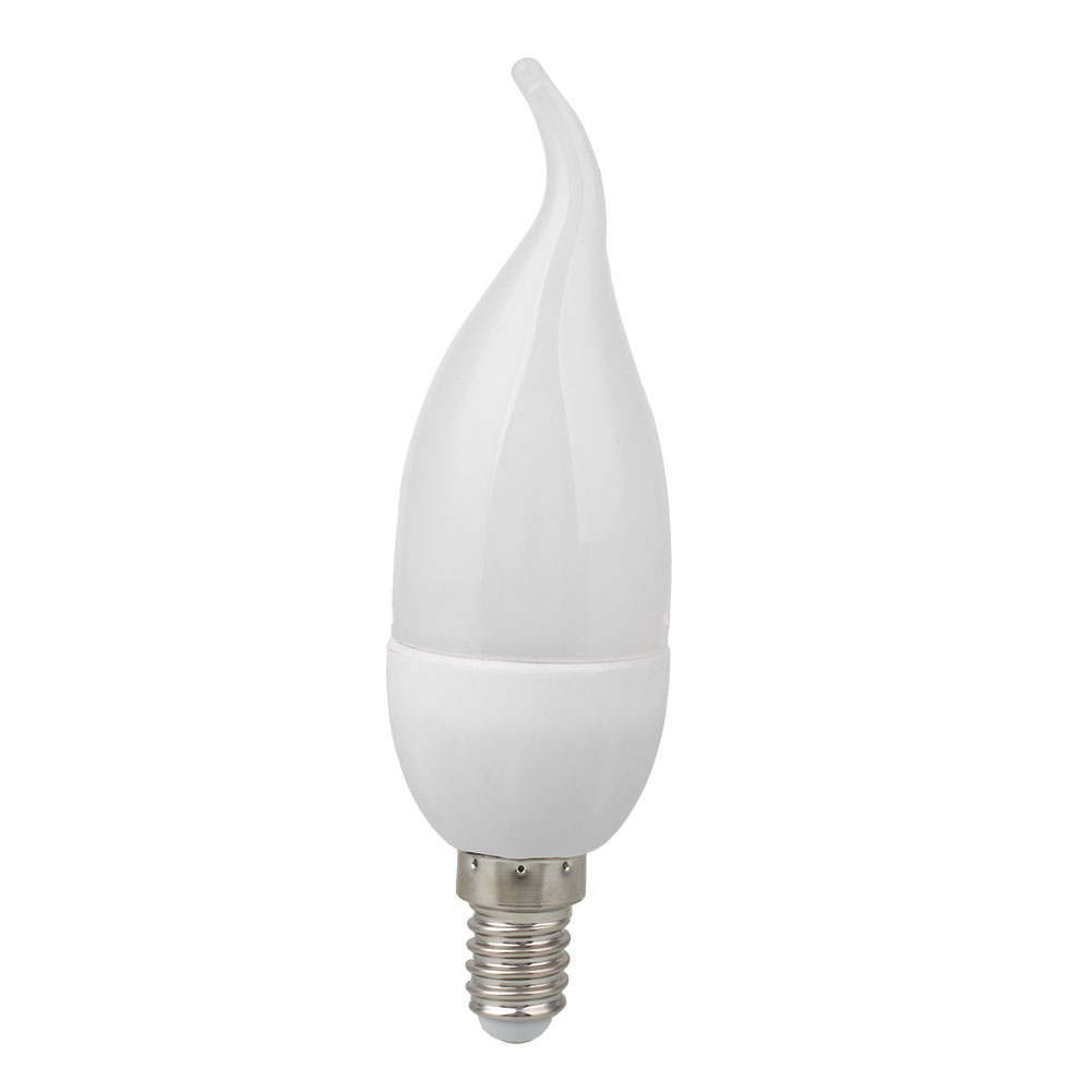 3w led candle flame light chandelier single bulb home decoration ac picture 2 of 2 arubaitofo Image collections