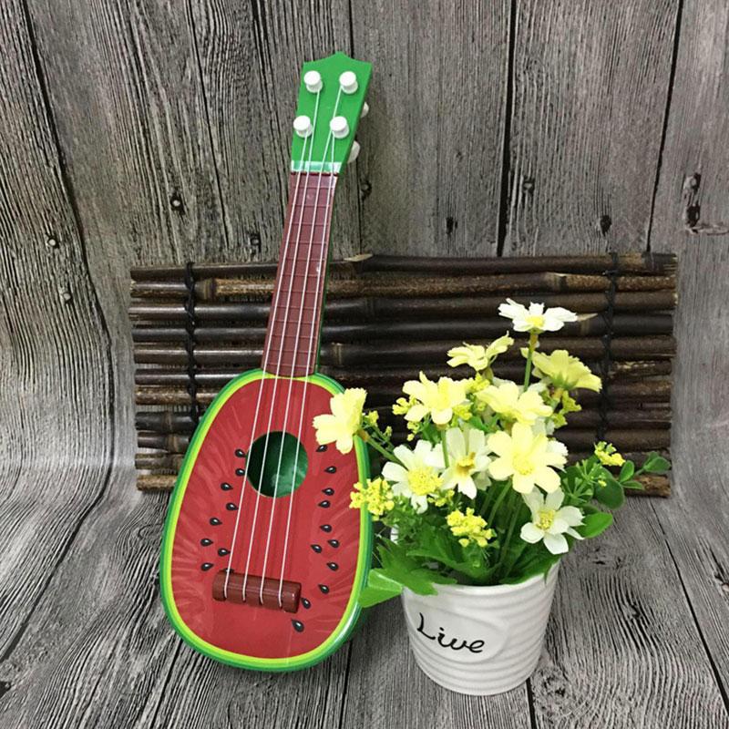 F897-Kids-Fruit-Ukulele-Uke-4-Strings-Small-Guitar-Instrument-Educational-Toy