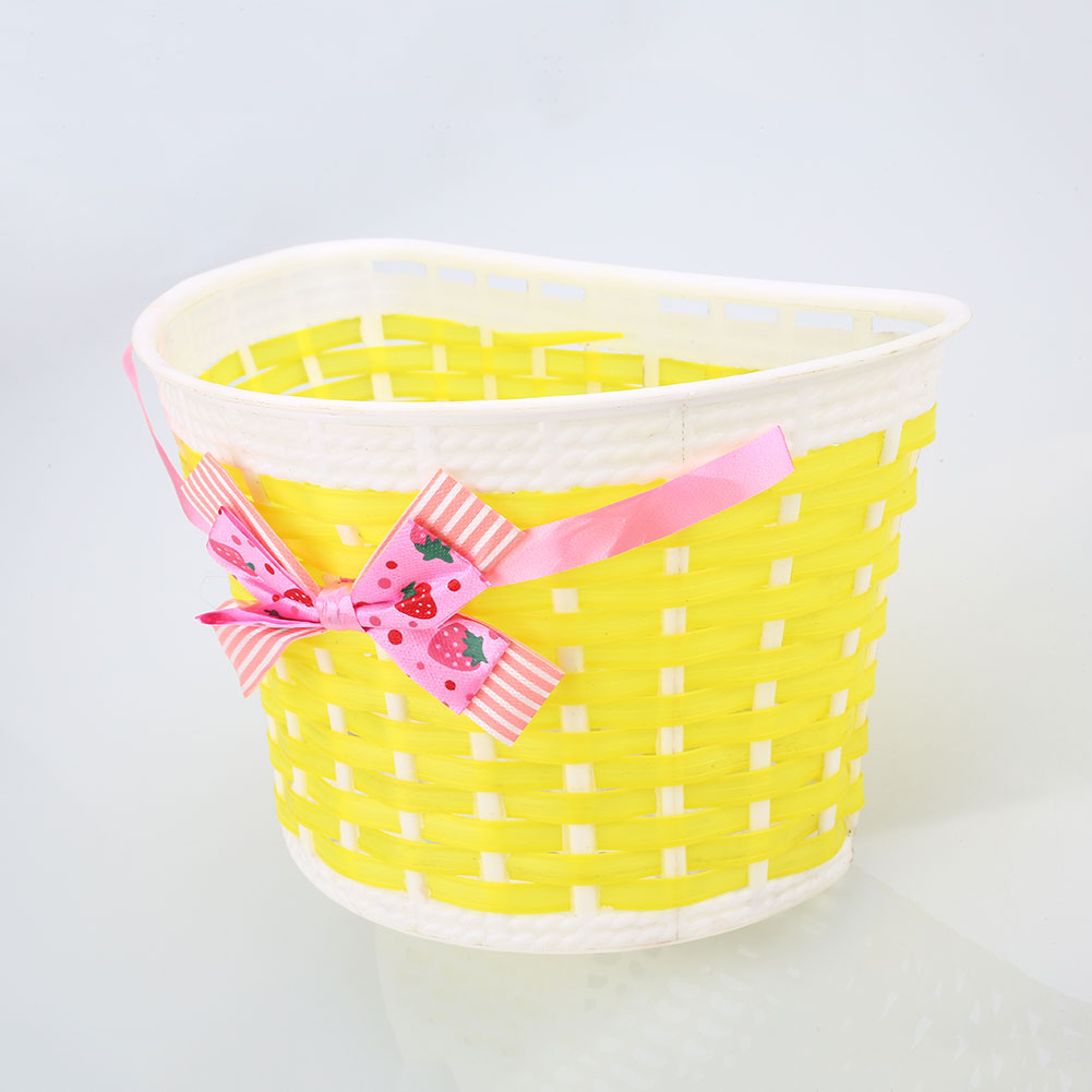 36E8-Outdoor-Bicycle-Bags-Panniers-Bike-Cycle-Bowknot-Front-Basket-For-Girl